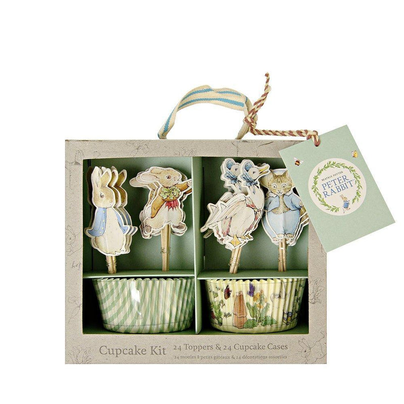 Peter Rabbit™ & Friends Cupcake Kit - Meri Meri