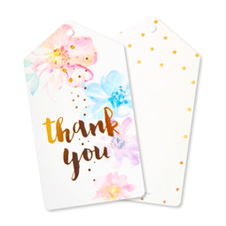 Floral Thank You Tags - Pack of 10 - Illume Partyware