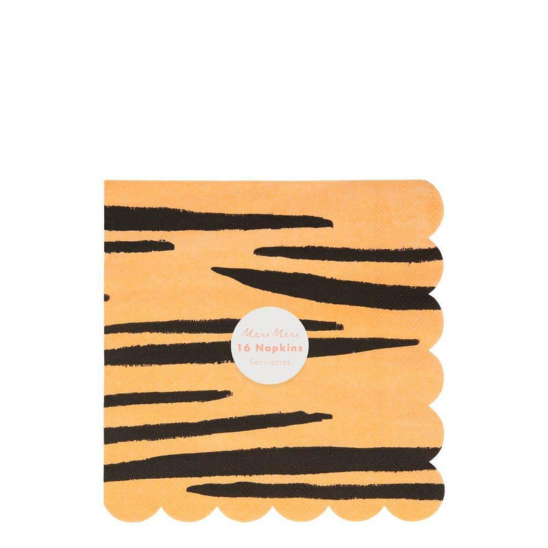 Safari Animal Print Large Napkins - Pack of 16 - Meri Meri