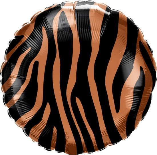 Tiger Stripes Foil Balloon