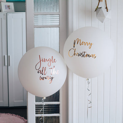 Jumbo Balloon with Decals