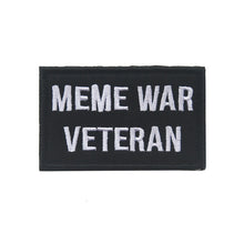 Embroidered Meme War Veteran Patch