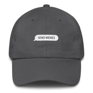 Send Memes Received Dad Hat