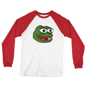 Pepe Long Sleeve Baseball T-Shirt