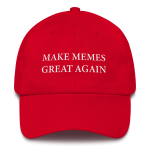 Make Memes Great Again Campaign Hat