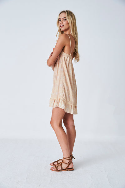 Jasmine Slip Dress // Sunshine