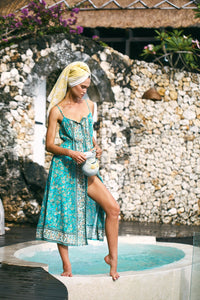 Daisy Chain Sundress // Poolside