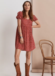 Shangri-La Mini Dress // Ruby Floral