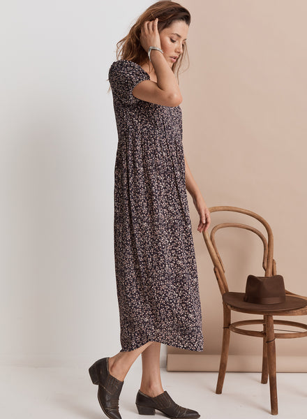 Shangri-La Maxi Dress // Midnight Floral