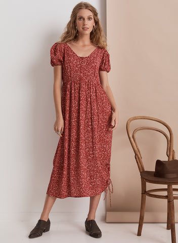 Shangri-La Maxi Dress // Ruby Floral