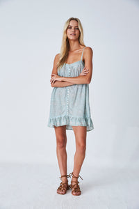Jasmine Slip Dress // Cloud