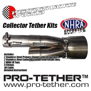 "Performance World 250450 PRO-TETHER  Collector Tether Kit 2.50""/4.50"""