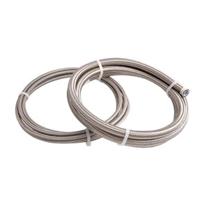 Performance World 200008 -8AN Braided Steel Hose