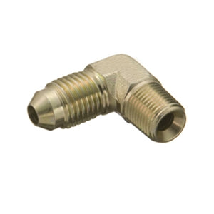 "Performance World 2220302 * Steel 90 Degree Male 1/8"" NPT to -3AN Fitting"