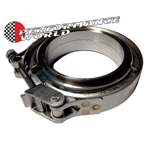 "Performance World 225V 2-1/4"" Stainless V-Band Assembly"