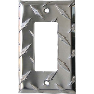 Performance World 31 Diamond Chrome Decora Switch/Outlet Cover