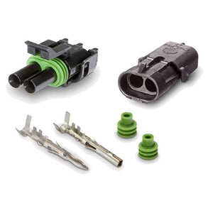 Performance World 320402 2-Pin Weatherpack Connectors