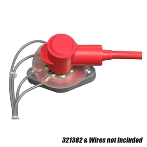 Performance World 321382A Terminal Insulator Kit for 321382. Red.
