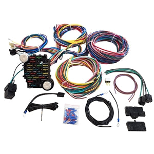 Performance World 329021 21 Circuit Universal Hot Rod Chassis Wiring Harness