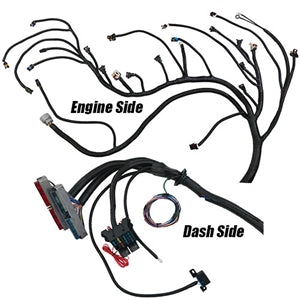 Performance World 329092 1999 - 2006 Gen III LS Chevrolet & GMC Truck (4.8, 5.3, 6.0 & 6.2L) Complete engine swap wiring and 4L60E harness