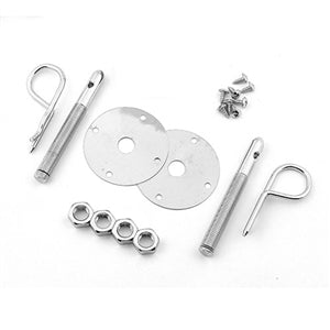 Performance World 4051 Chrome Hood Pin Kit