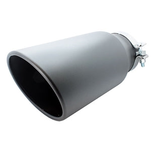 "Performance World 507015BK 5.00"" T304 Black Coated Exhaust Tip"