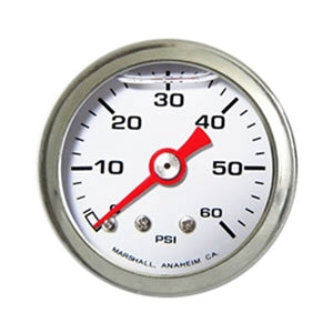 Performance World 5260W 0-60PSI Fuel Pressure Gauge
