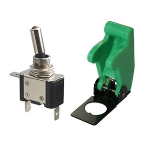 Performance World 560102 Green Toggle Missile Switch