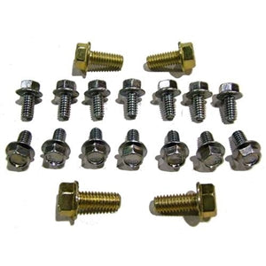 Performance World 6085H SB Flange-Lock Oil Pan Bolts