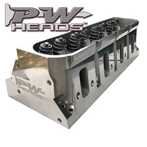 Performance World 63240A LS3 Style Chevrolet 240cc Aluminum Cylinder Heads Pair (complete)
