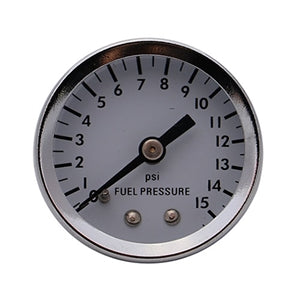 Performance World 641015 0-15PSI Fuel Pressure Gauge