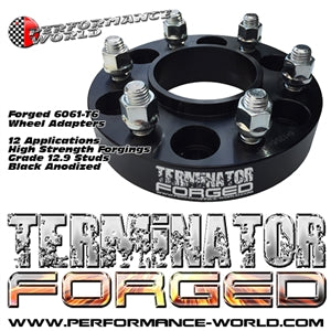 "Performance World 707133 2"" Terminator Forged Wheel Spacers"