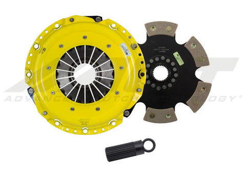 ACT XT Clutch Kit w/6-Puck Solid Disc