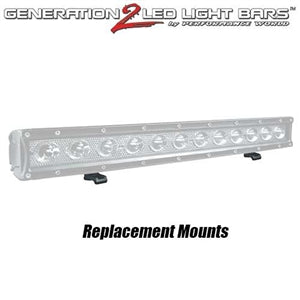 Performance World PWSMOUNT Single Row LED Bar Mount