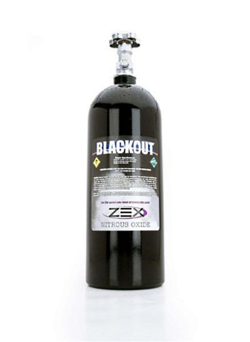 ZEX 10lb Blackout Series Nitrous Bottle