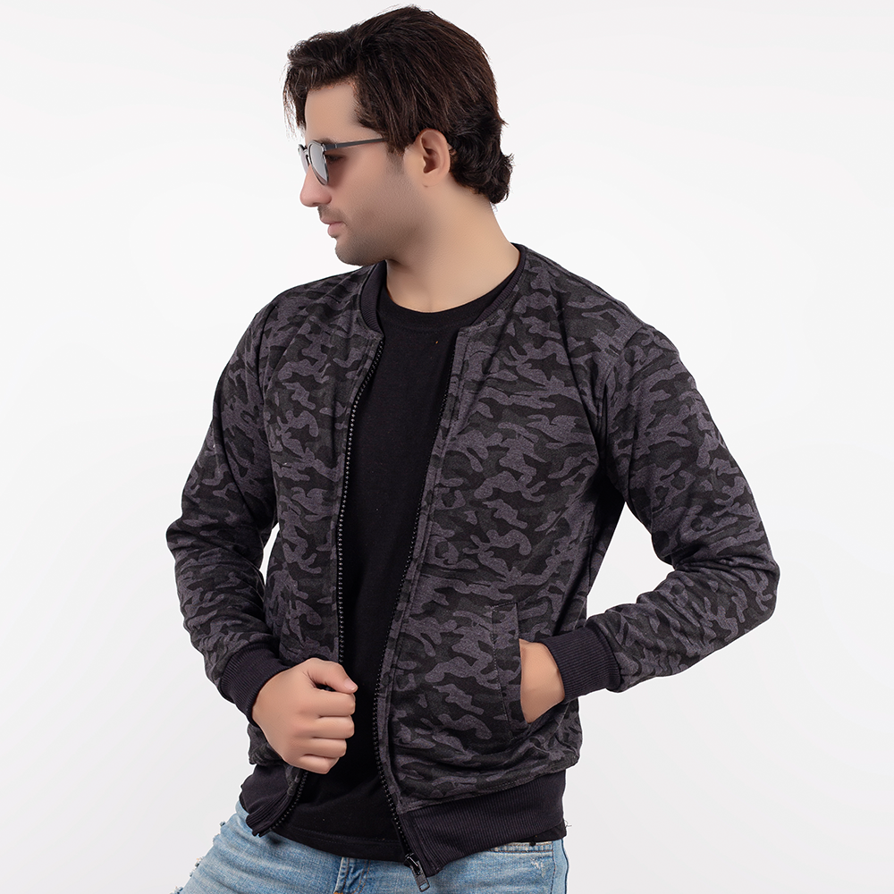 KNIGHT CAMO BOMBER JACKET