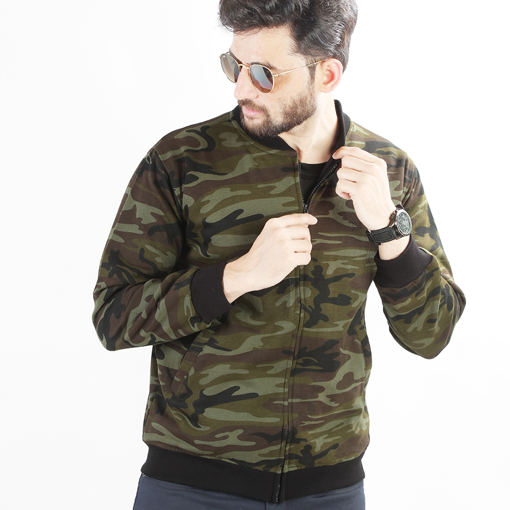 HAWKS MILITARY BOMBER JACKET
