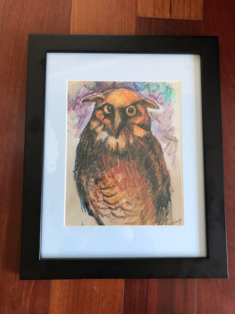 Ann-Rosemary Conway Owl Print