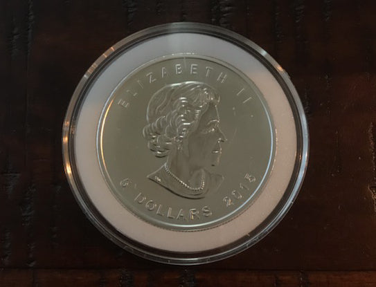 2015 1 oz Silver funnel Web Spider coin