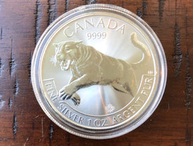 2016 1 oz Cougar Coin