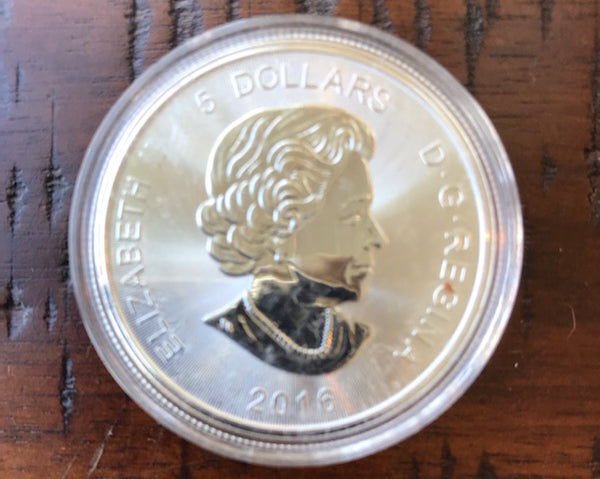 2016 1 oz Silver Cougar Coin