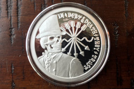 1 oz Silver Stay Calm and Slave on