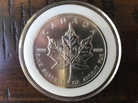 2011 Canadian Maple Leaf Coin