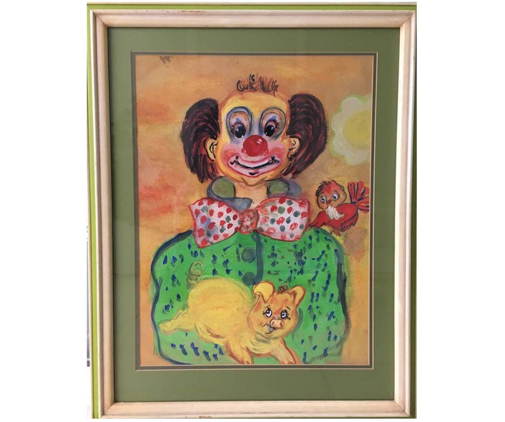 Original Clown Painting