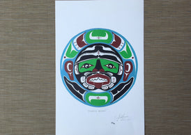 March Moon by Earl AR Lace March 2001 First Nations Artist Limited Edition Print