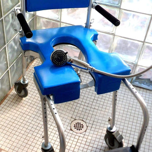 GO-ANYWHERE COMMODE 'N SHOWER CHAIR (CS)