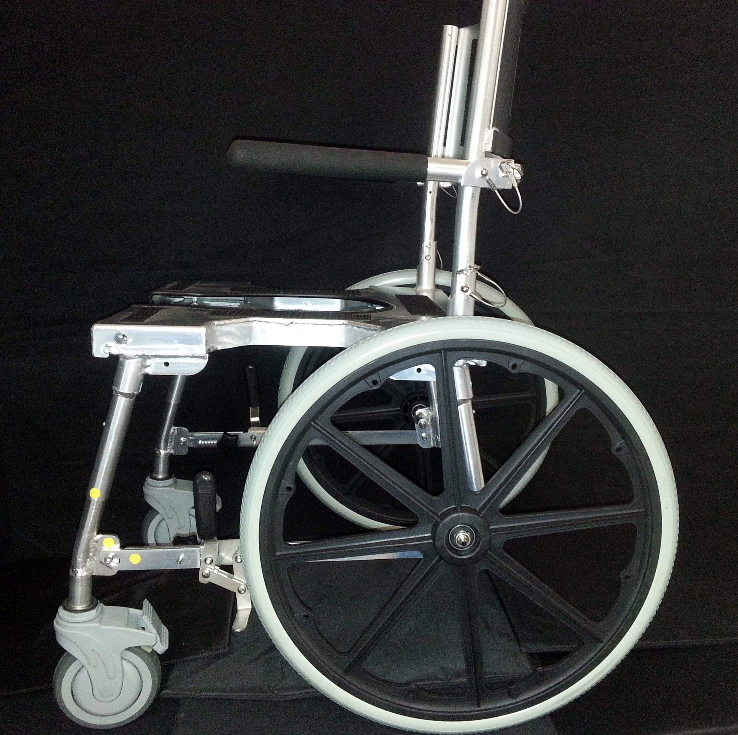 GO-ANYWHERE COMMODE 'N SHOWER CHAIR - SELF-PROPEL (SP)