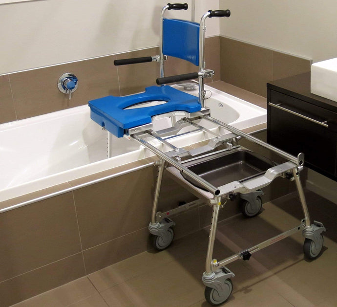 GO-ANYWHERE COMMODE, SHOWER 'N TUB CHAIR (CST)
