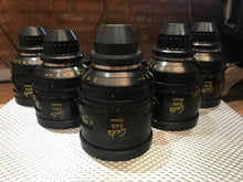 Used Cooke S4/i Lens Set 18,25,32,50,75mm T2