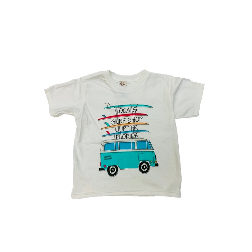 LOCALS TRAVELING BUS TODDLER TEE